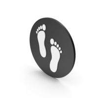 Footprint Icon PNG & PSD Images