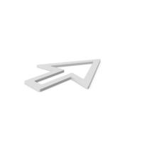 Cursor Arrow Symbol PNG & PSD Images