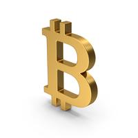 Symbol Bitcoin Gold PNG & PSD Images