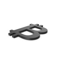 Black Symbol Bitcoin PNG & PSD Images