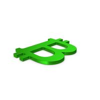 Green Symbol Bitcoin PNG & PSD Images