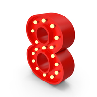 Bulb Number 8 PNG & PSD Images