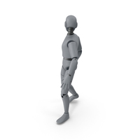 Friendly Robot Looking Back PNG & PSD Images