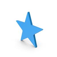 Symbol Star Blue PNG & PSD Images