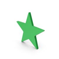 Symbol Star Green PNG & PSD Images
