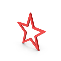 Symbol Star Red PNG & PSD Images
