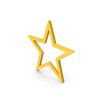 Symbol Star Yellow PNG & PSD Images
