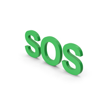 SOS Green PNG & PSD Images