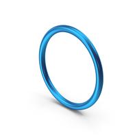 Circle Blue Metallic PNG & PSD Images
