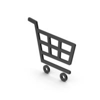 Symbol Shopping Cart Black PNG & PSD Images