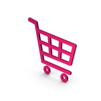 Symbol Shopping Cart Metallic PNG & PSD Images