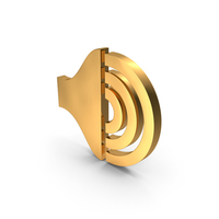 Full Sound Gold Icon PNG & PSD Images