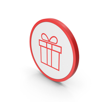 Icon Gift Red PNG & PSD Images