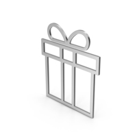 Symbol Gift Silver PNG & PSD Images