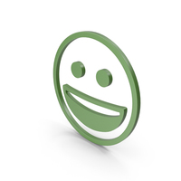 Happy Green Icon PNG & PSD Images