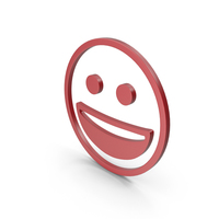Happy Red Icon PNG & PSD Images
