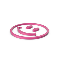 Happy Pink Icon PNG & PSD Images