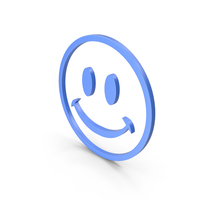 Happy Blue Icon PNG & PSD Images