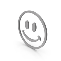 Happy Grey Icon PNG & PSD Images