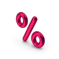 Percentage Symbol Metallic PNG & PSD Images