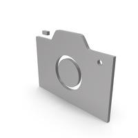 Camera Grey Symbol PNG & PSD Images