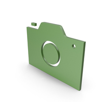Camera Green Symbol PNG & PSD Images