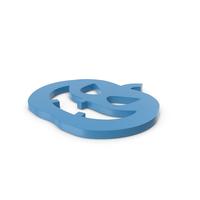 Jack o Lantern Blue Icon PNG & PSD Images