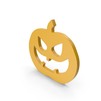 Jack o Lantern Yellow Icon PNG & PSD Images