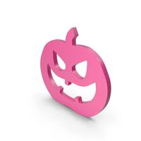 Jack o Lantern Pink Icon PNG & PSD Images