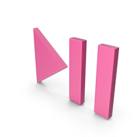 Play Pause Button Pink PNG & PSD Images