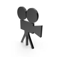 Video Camera Black Symbol PNG & PSD Images