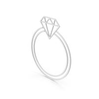 Symbol Diamond Ring PNG & PSD Images