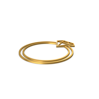 Gold Symbol Diamond Ring PNG & PSD Images