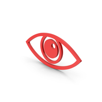Symbol Eye Red PNG & PSD Images