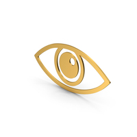 Symbol Eye Gold PNG & PSD Images