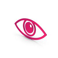 Symbol Eye Metallic PNG & PSD Images