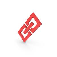 Symbol Link / Chain Red PNG & PSD Images