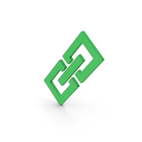 Symbol Link / Chain Green PNG & PSD Images