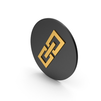 Link / Chain Gold Icon PNG & PSD Images