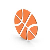 Symbol Basketball Orange PNG & PSD Images