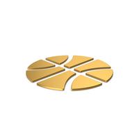 Gold Symbol Basketball PNG & PSD Images