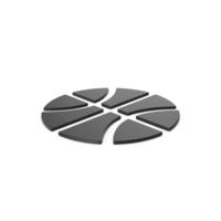Black Symbol Basketball PNG & PSD Images