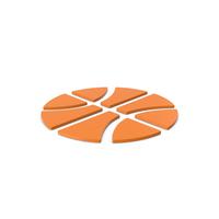 Orange Symbol Basketball PNG & PSD Images