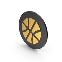 Basketball Gold Icon PNG & PSD Images