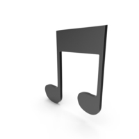 Music Note Black PNG & PSD Images