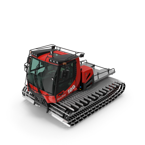Snowcat PistenBully PNG & PSD Images