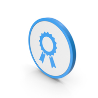 Icon Award Blue PNG & PSD Images