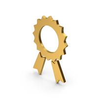 Symbol Award Gold PNG & PSD Images