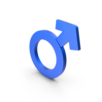 Male Gender İcon PNG & PSD Images