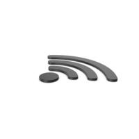 Black Symbol WIFI PNG & PSD Images